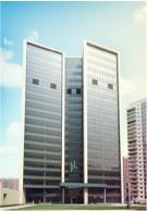 Render of Algorithm Business Center at Akademika Pilugina St. (Moscow)