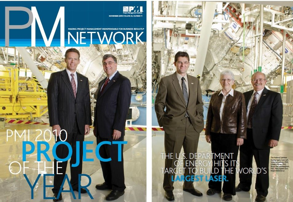 NIF: PMI Project of Year (2010)